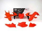 Plastkit Komplett | KTM 125 FLUO ORANGE